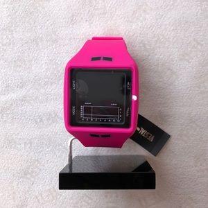 Brand New, Vestal Pink Leather Watch